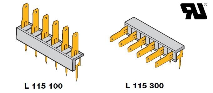 L 115 100 01000 / L 115 300 01000 (références certifiées UL)